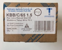Teddington Fire Valve KBB/C/65 1.5m