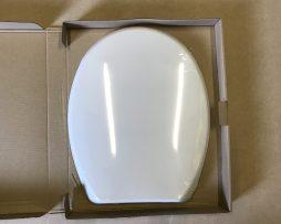 Spa Toilet Seat : Atlantic spa marine blue toilet seat with sta tite fixings
